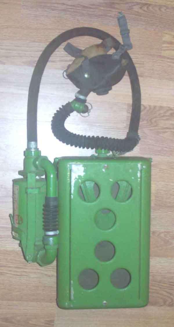 USN MSA Type C oxygen rebreather unit