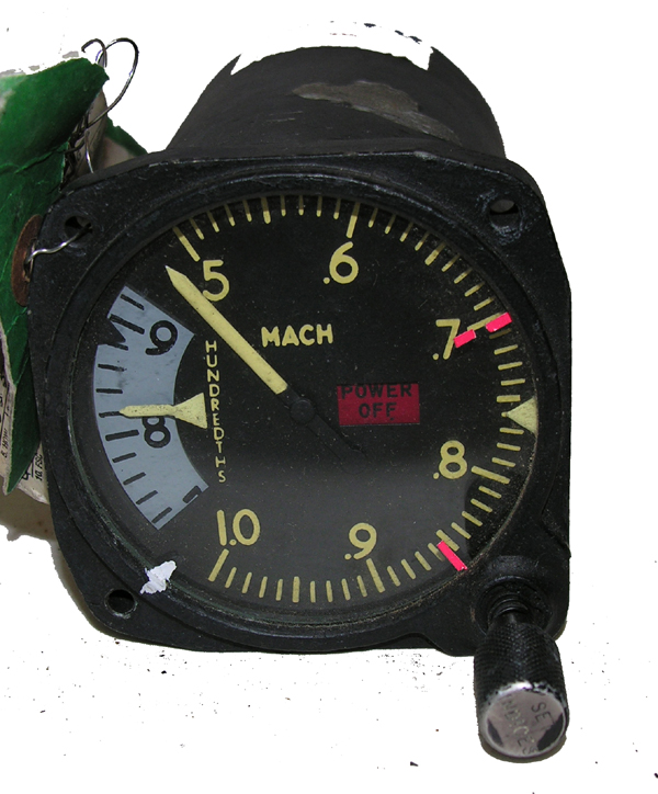 Aircraft Mach Airspeed Indicator Instrument