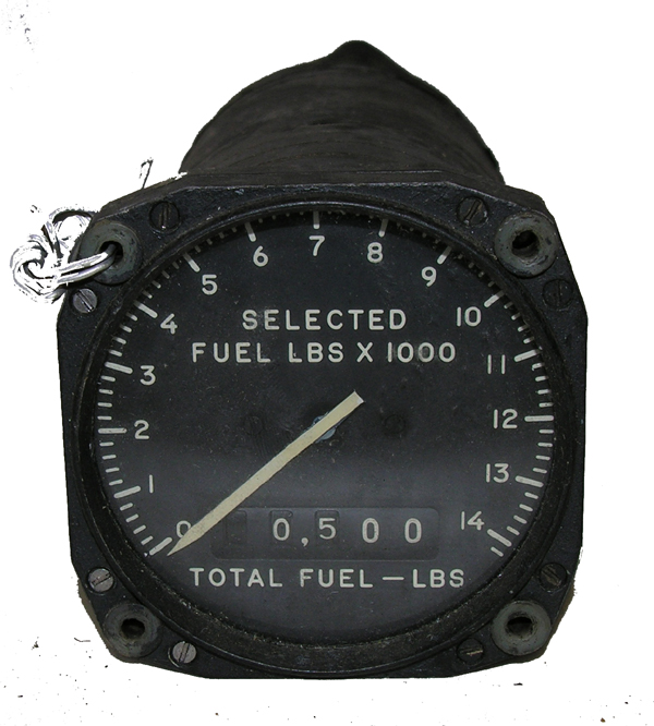 Aircraft Fuel Guage Indicator Instrument