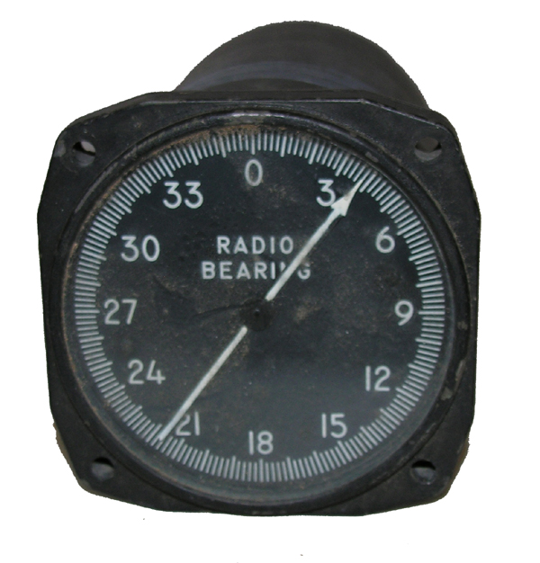 Aircraft Radio Bearing Indicator Instrument