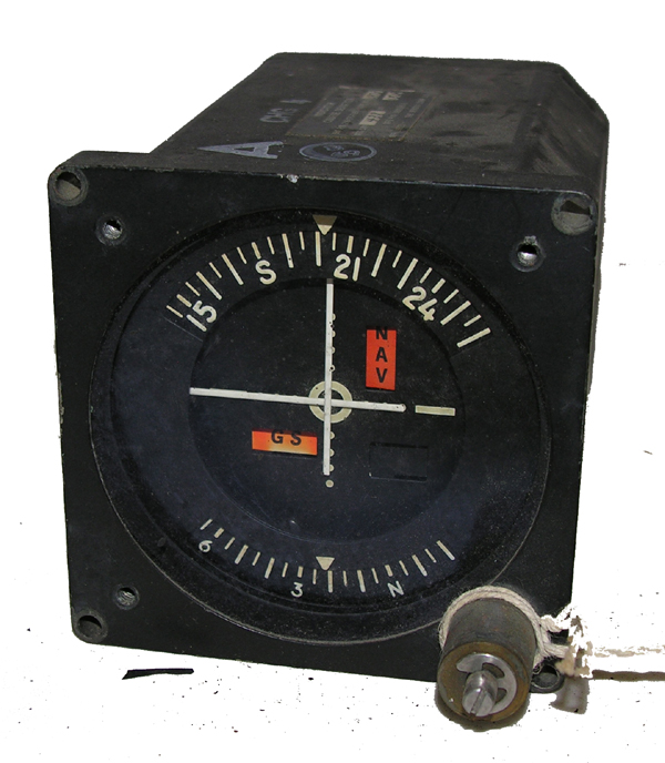 Aircraft Course Deviation Indicator Instrument