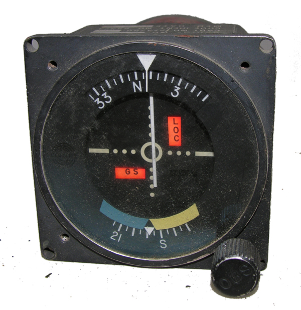 Aircraft Course Indicator Instrument