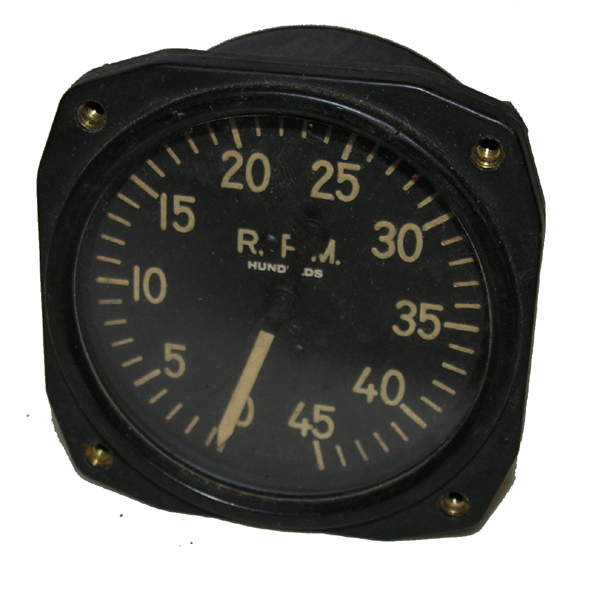 WW2 Aircraft RPM Tachometer