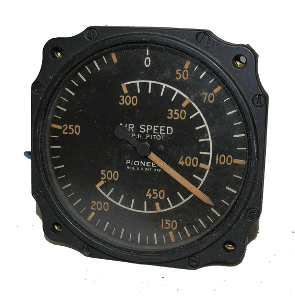 Aircraft Air Speed Indicator Instrument