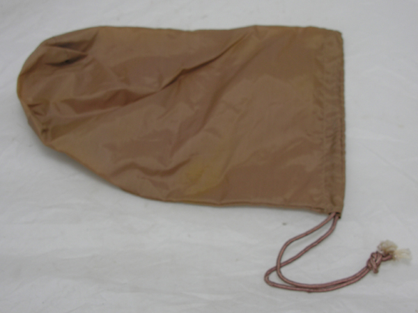 Tan Nylon Personal Effects Bag
