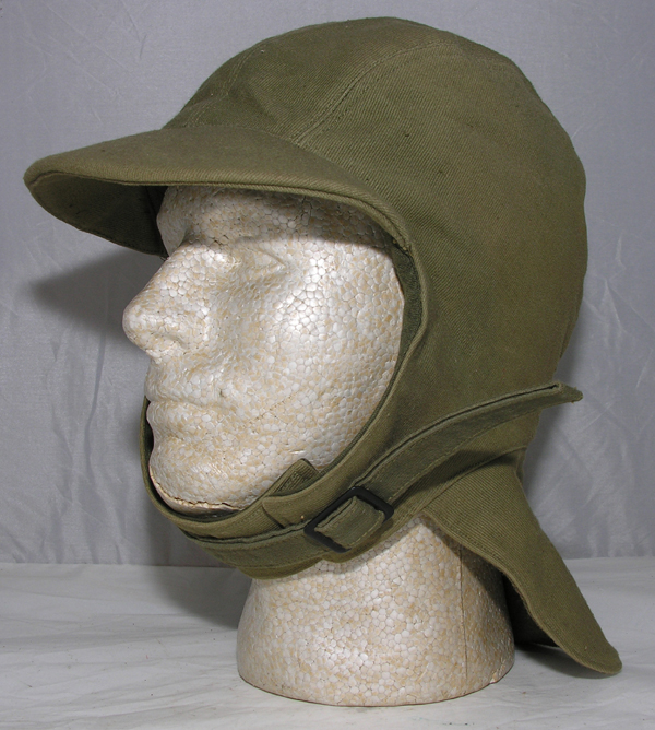 US Navy Foul Weather Deck Helmet with brim