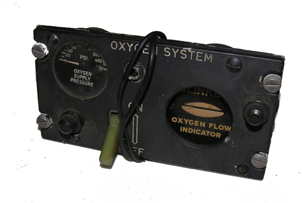 Aircraft A-3 Oxygen Regulator
