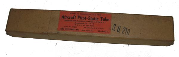 Aircraft Pitot Static Tube
