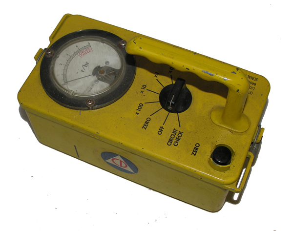 Civil Defense Geiger Counter