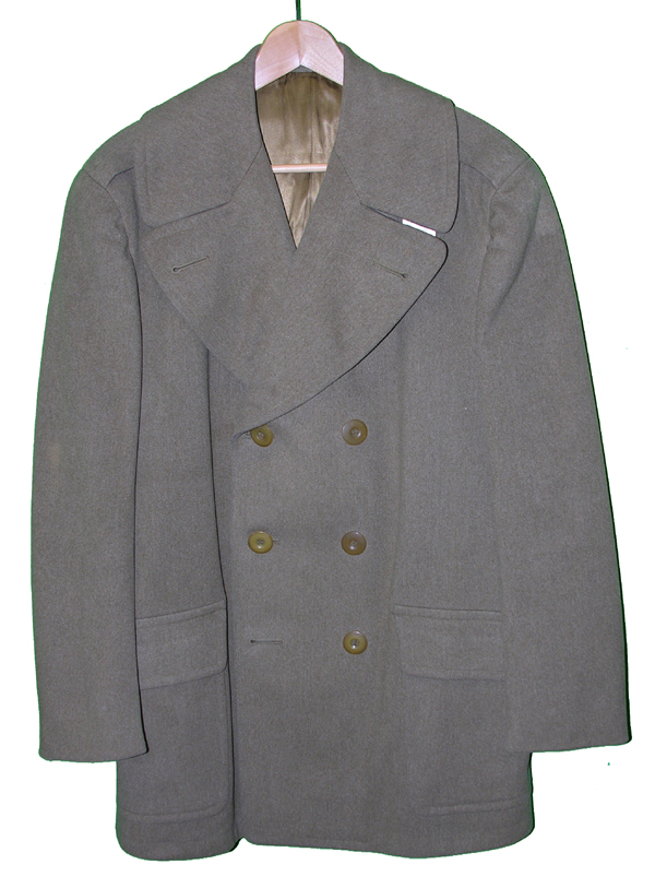 US Officers Doeskin Over Coat size 42