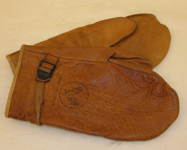 USAAF Brown Leather Cold Weather Gloves