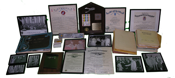 Army Officer Paperwork and Photo Grouping Belonging to Paul E Nottage