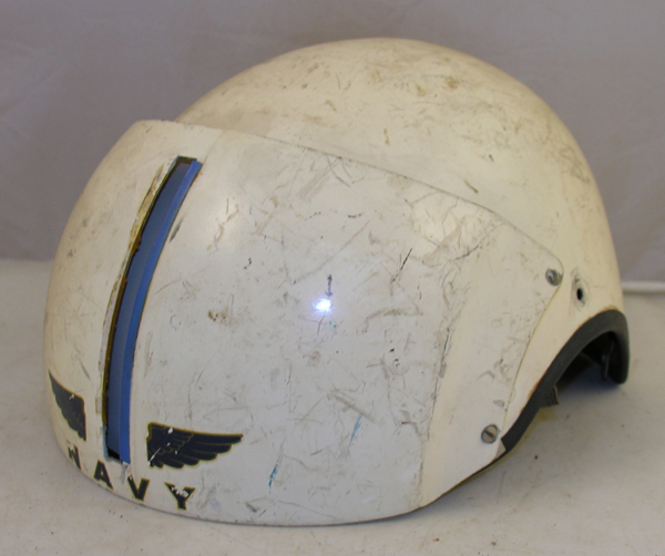 US Navy BPH-2 Flight Helmet Shell and Visor Housing