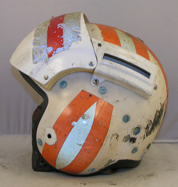 US Coast Guard SPH-3 Helicopter Helmet with reflective tape
