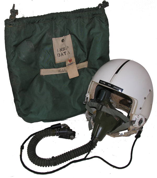 US Air Force HGU-2A/P Flight Helmet with MBU-5/P Oxygen Mask and Bag