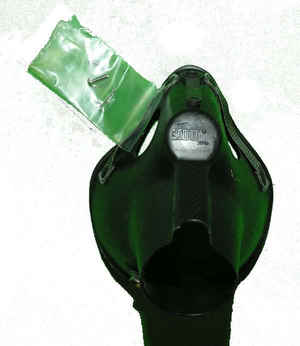 Hardshell, MBU-5 Oxygen Mask