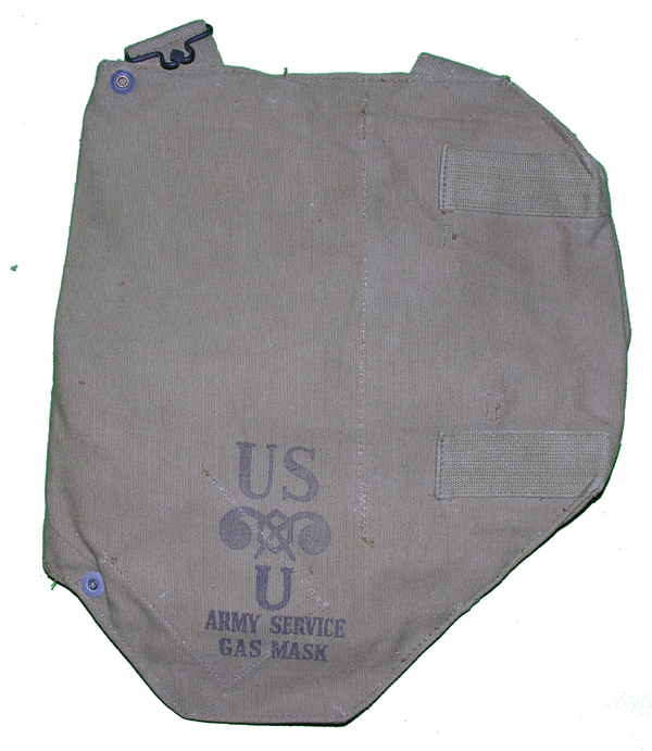 GI Army Service Gas Mask Bags