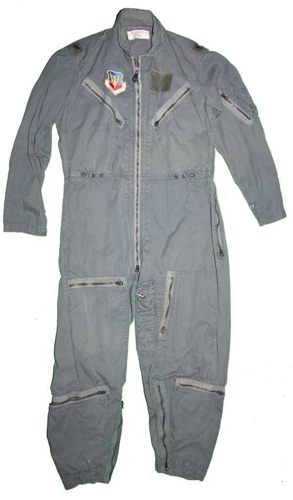 K-2B Flight Suit with Tactical Air Command Patch on right breast