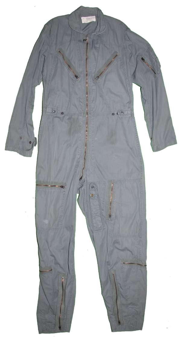 USAF Vietnam dated K-2B lightweight flight suit