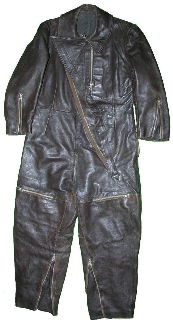 WW2 Luftwaffe? One Piece Leather Flight Suit