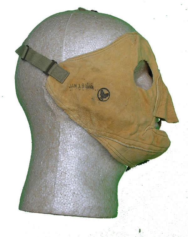 WW2 USAAF Chami Facemask