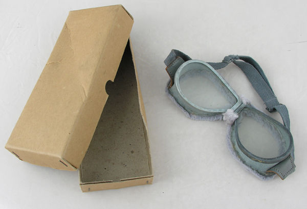 Foreign Aviator Goggles in box