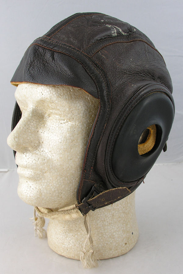 RARE USAAF AN-H-16 Shearling Flight Helmet