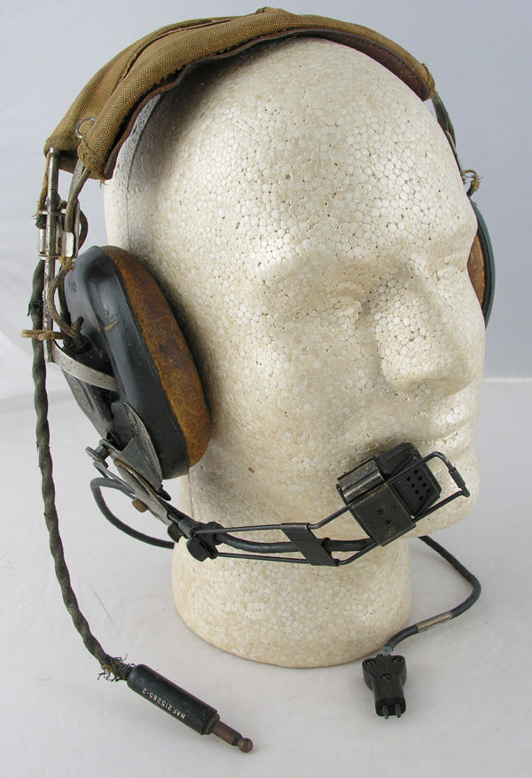 US Navy Headset with Boom Microphone