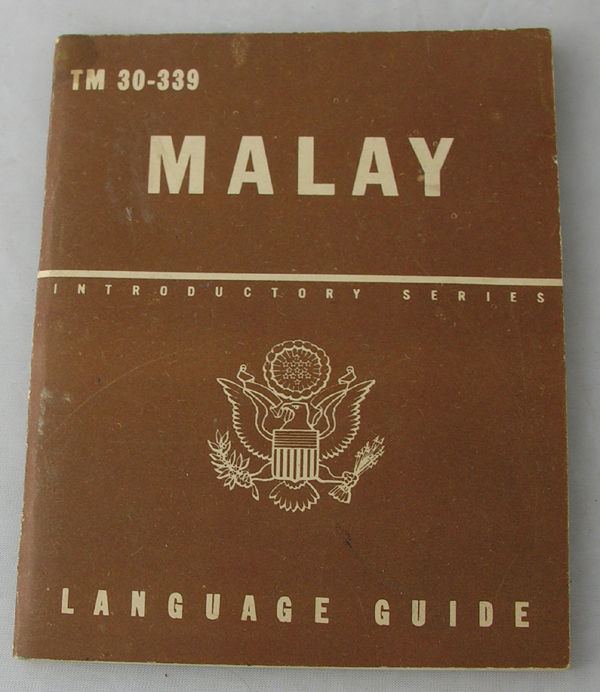 Malay Phrase Booklet