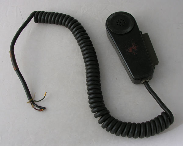 US Army Microphone and Push-to-Talk Switch