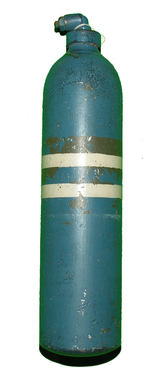 Luftwaffe Oxygen Bottle