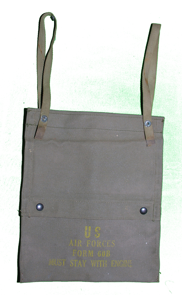 USAAF Form 60B cloth pouch