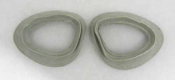 Reproduction Goggle Cushions for B-7 and B-6 Goggles