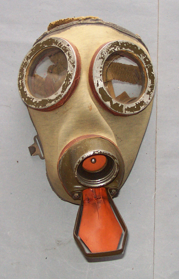 Rare Lativia Army Gas Mask