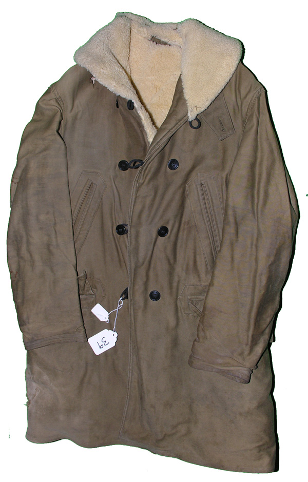 Civilian Purchased Shearling Lined Coat