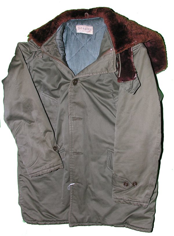 B-9 Army Air Force Type Parka