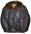 Communist Chinese Leather Flight Jacket and Trousers