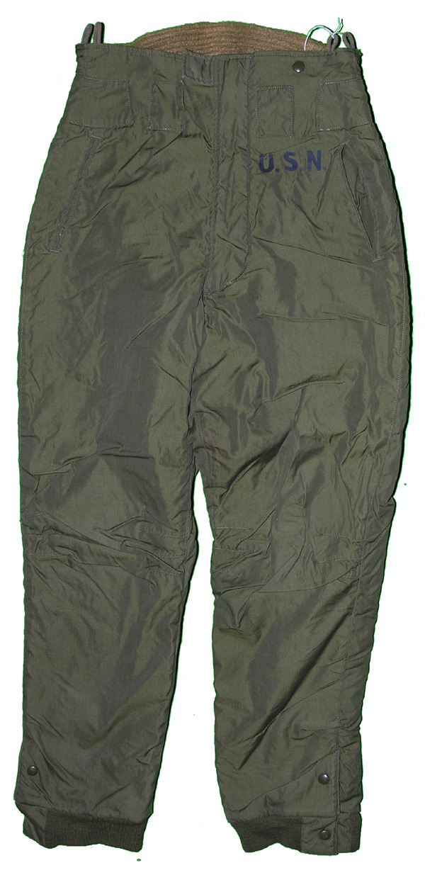 US Navy Cold Weather Trousers