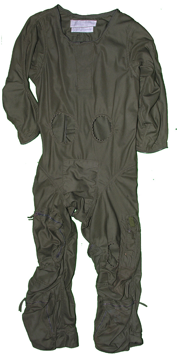 USAF High Altitude Suit Exterior Cover Assembly