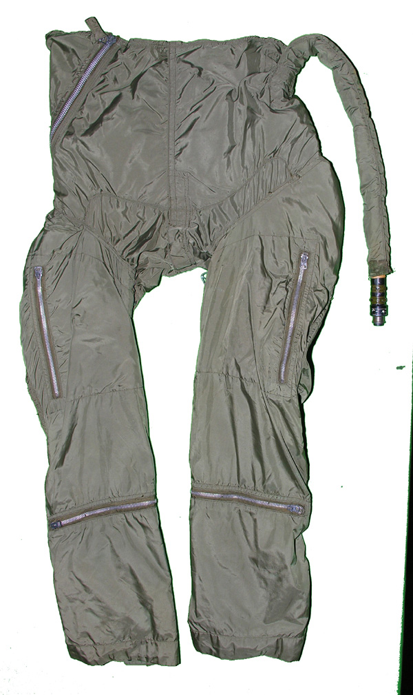 RARE US Navy Modified Z-2 Anti-G Suit