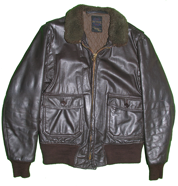 US Navy Private Purchase G-1 Style Leather Flight Jacket