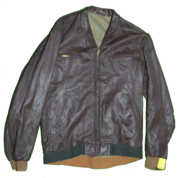 Communist Chinese Air Force Leather Flight Jacket and Trousers