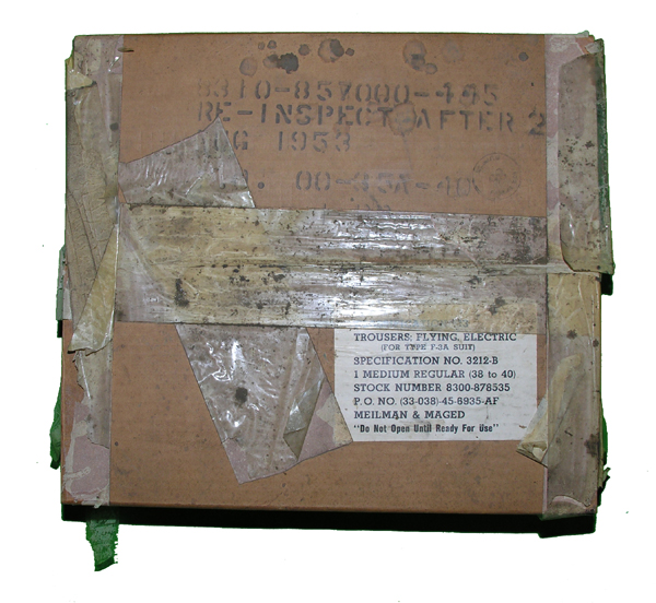 USAAF F-3A Heated Trousers in Box