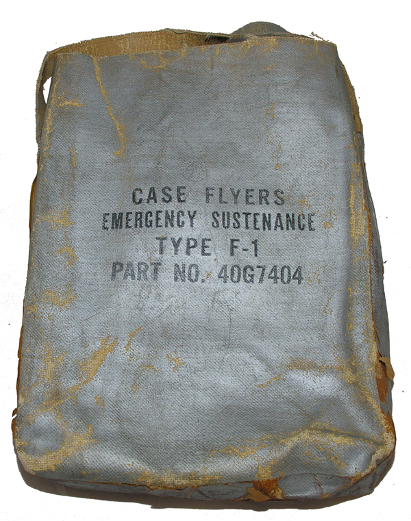 RARE USAAF F-1 Survival Kit Container