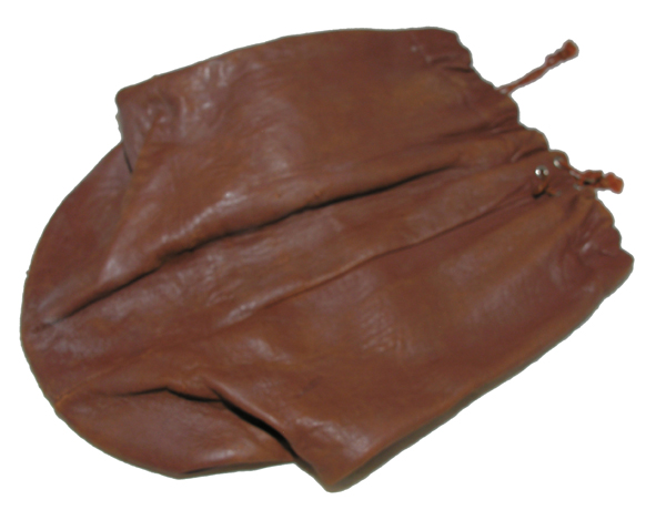 WW2 GI Small Leather Personal Items Bag
