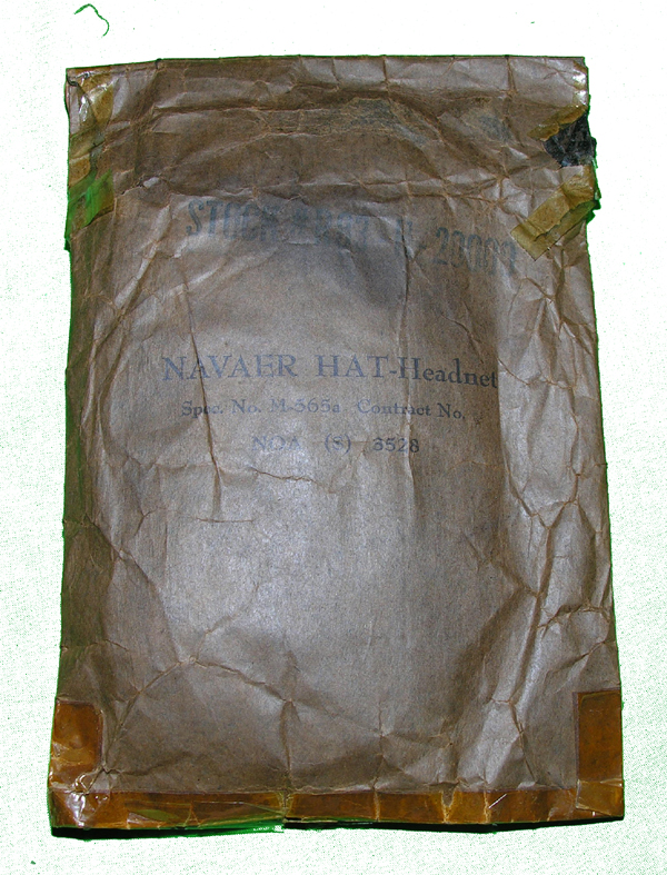 US Navy M-565a Mosquito Headnet in original wrapping