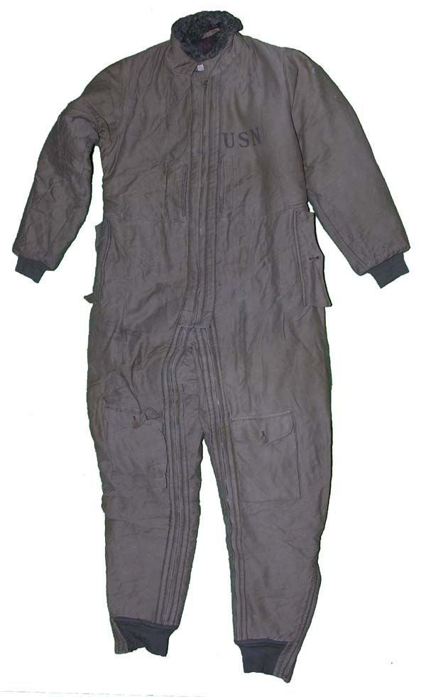 1930s USN S-89 Corduroy Flying Suit size 42L