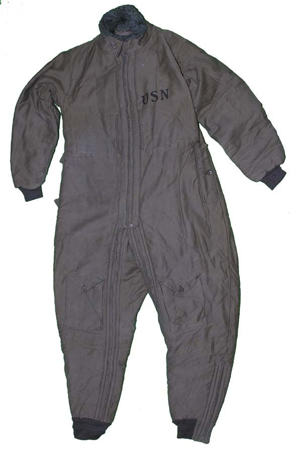 1930s USN S-89 Corduroy Flying Suit