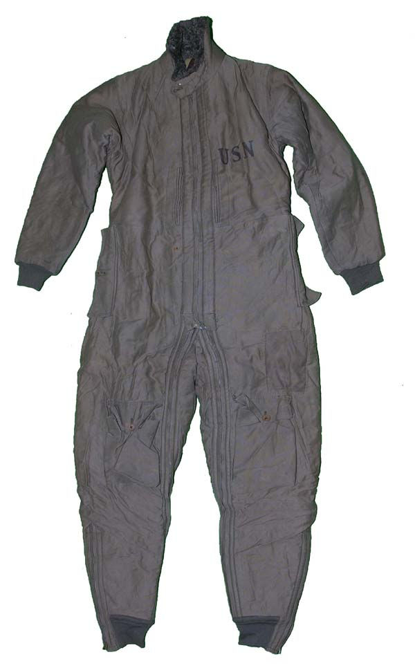 1930s USN S-89 Corduroy Flying Suit size 38L