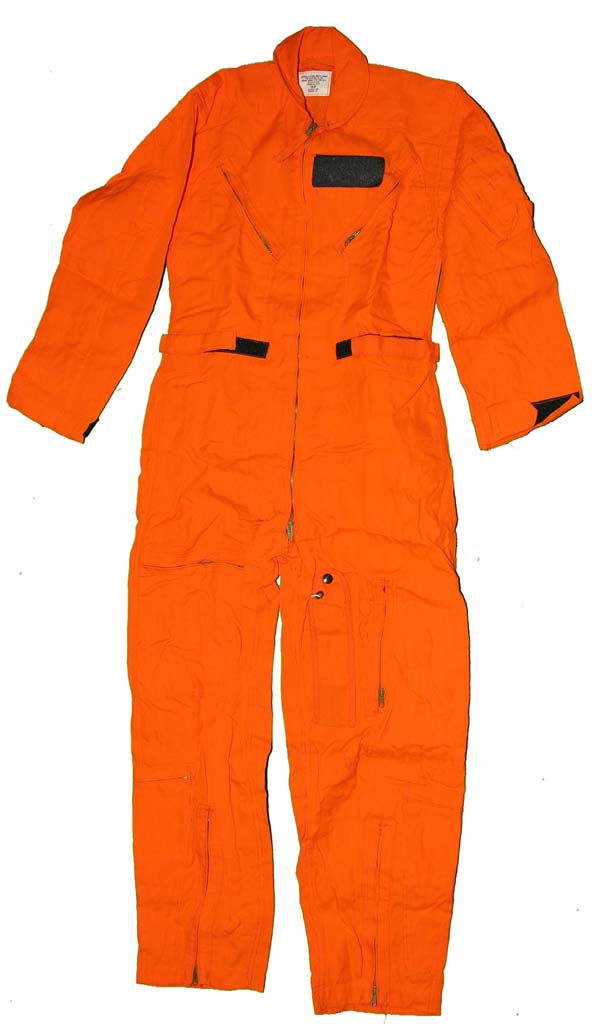 USAF Indian Orange CWU-28/P Flight Suit size 36R